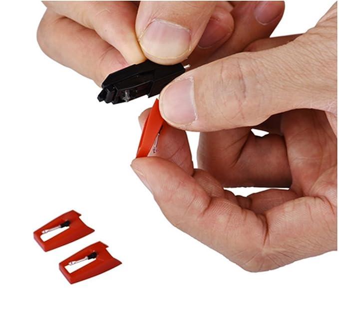 Jia Duo Duo láser y lápiz capacitivo aguja para tocadiscos ...