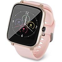 Redlemon Smartwatch Reloj Inteligente con Monitor de Ritmo Cardiaco, Presión Arterial y Temperatura, Notificaciones de…