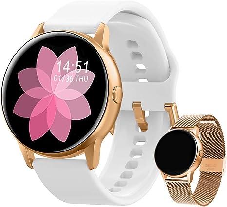 Fitness Armband Uhr Smartwatch Pulsmesser Wasserdicht Damen Herren Chic