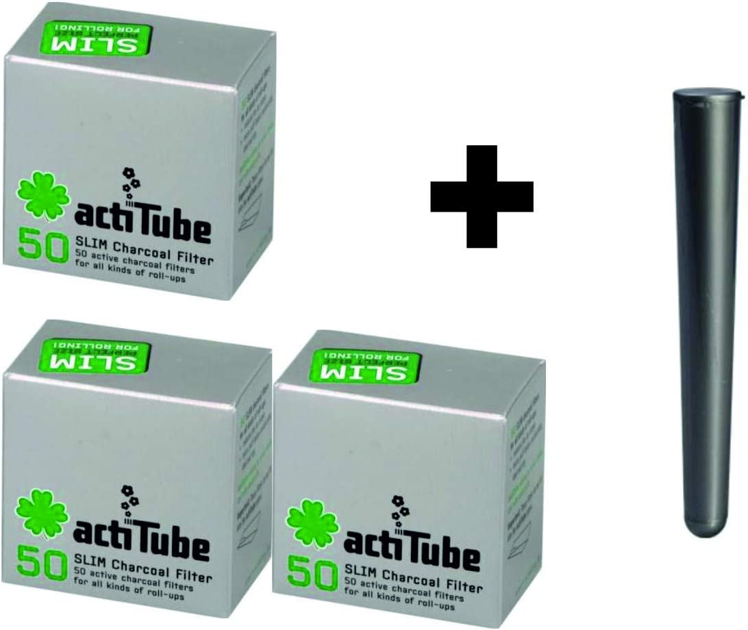 2x50 100 Filtro de carb/ón Activo 7,1 m actiTube Slim