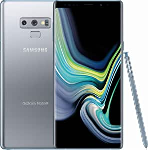 Samsung Galaxy Note 9, 128GB, Cloud Silver - For AT&T (Renewed)