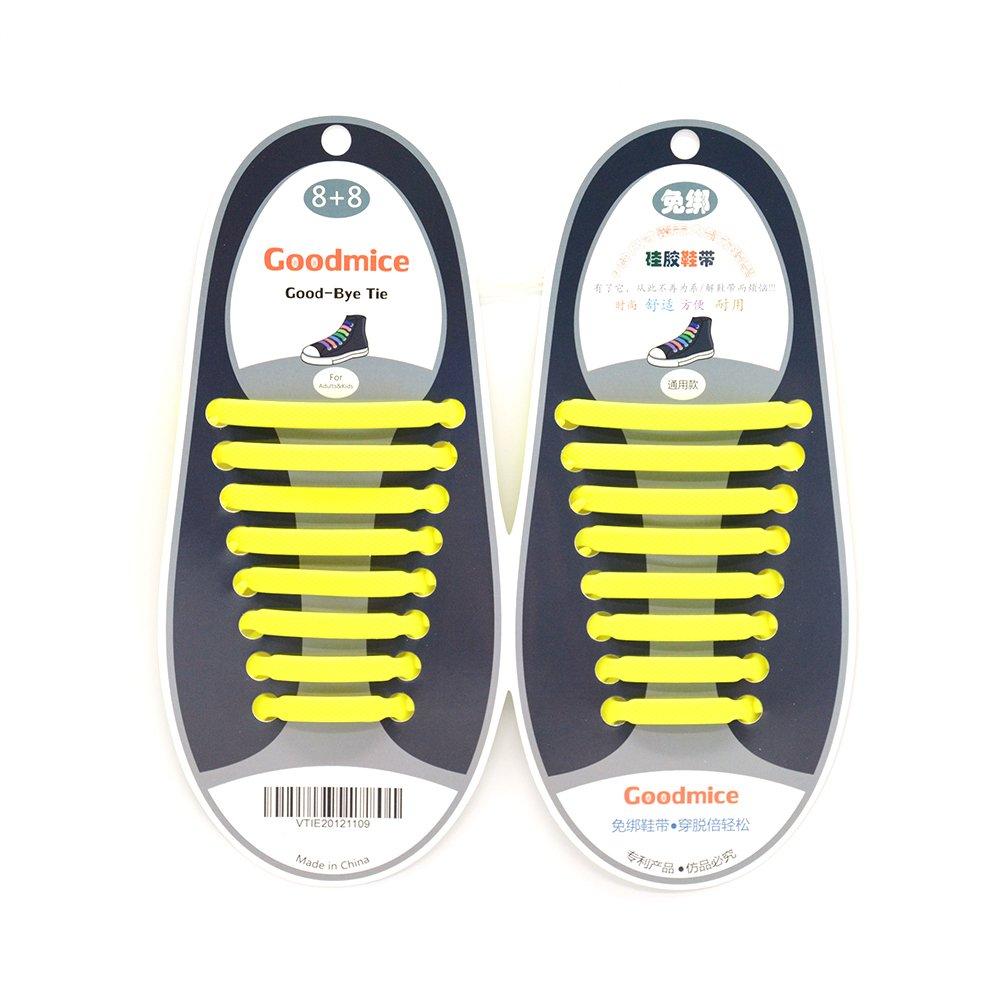 16pcs New Design Convenient No Tie Shoelaces Set Silicone Elastic Shoe Lace