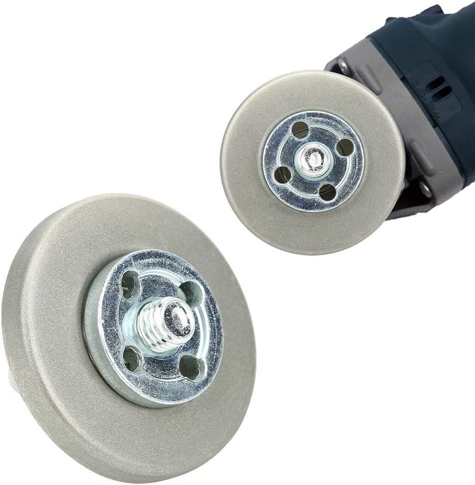 1#180 Grit Grinding Wheel 5.6cm Diameter Grinding Wheel High Hardness Sharpening Stone for Planing Tool Drill Scissor