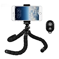 Deyard Flexible Large Octopus Tripod Stand for Hero 7 Black, iPhone X, Xs, Xs Max, Xr, iPhone 8, iPhone 8 Plus,GoPro Fusion GoPro Hero 5 Session, 6/5/4/ 3+ /3 /Original Gopro Camera Xiaomi Yi Action Camera