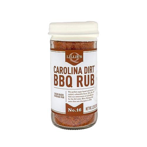 Lillie's-Q---Carolina-Dirt-BBQ-Rub,-Sugar-Based-BBQ-Rub,-Traditional-Carolina-Barbeque-Rub