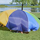 FUN LITTLE TOYS Parachute 10 Foot Kids 8 Sturdy
