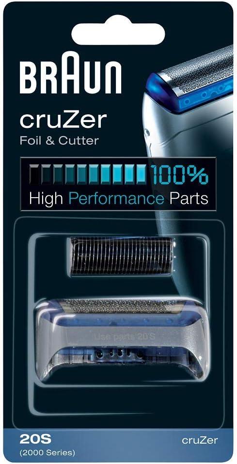 Braun Replacement Foil - CruZer1, 2, 3, 4 - 2000 Series