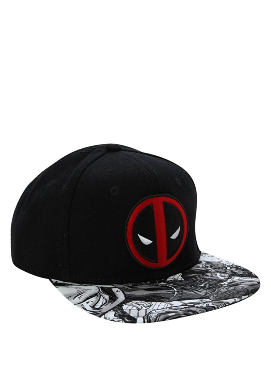 Deadpool Action Bill Snapback - Gorro (Talla única): Amazon.es ...