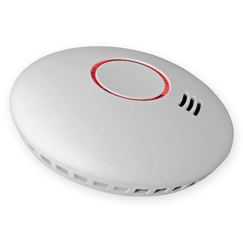 15x Nemaxx HW-2 detectores de Humos sin Hilos detectores de Humo detectores de Calor con Sensor Combinado de Humos y térmico según la DIN EN 14604 + NX1 Pad ...