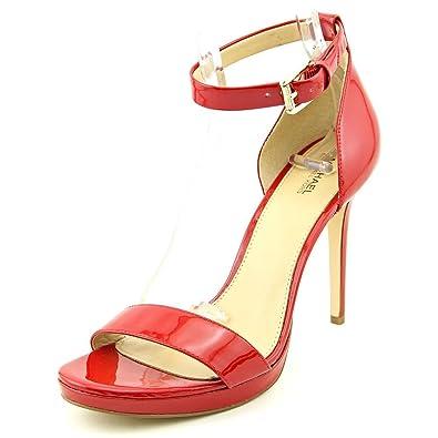 4c6e1b41424 Michael Michael Kors Sienna Md Women US 6 Red Sandals