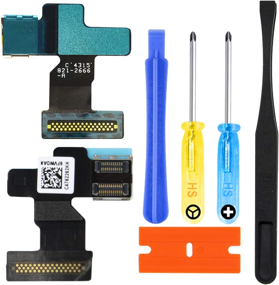 MMOBIEL LCD Flex Cable Connector Replacement Kit Compatible with Apple Watch Series 1 38mm incl. Pre-Installed Adhesive