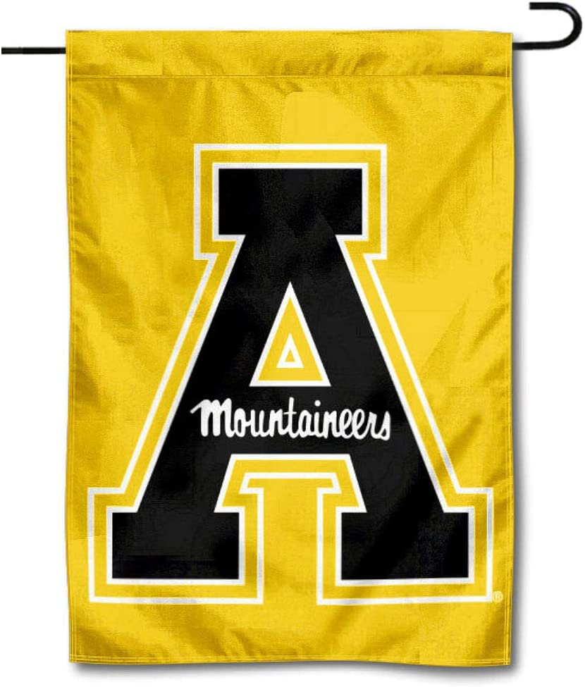 College Flags & Banners Co. Appalachian State Mountaineers Gold Garden Flag
