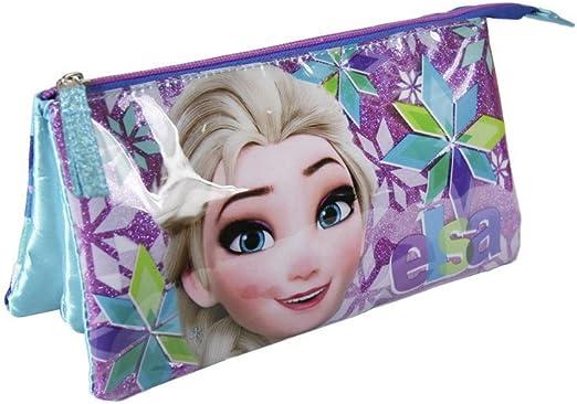 Estuche Plano Portatodo de Frozen Original Hogar y Más: Amazon.es: Hogar