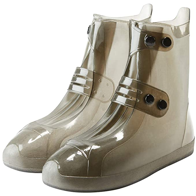 6b3dbfcb89c9a Amazon.com: Adults Waterproof Shoe Covers Rain Overshoes Rain Boots ...