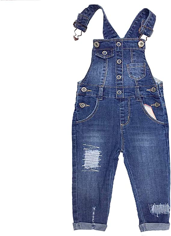 Kidscool Baby /& Toddler Ripped Holes Slim Soft Jeans