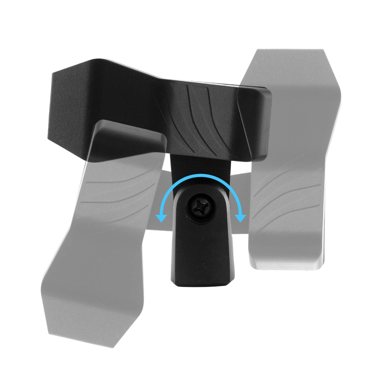 Tiger Clip Microphone Universel Clip Spring Mic de qualit/é