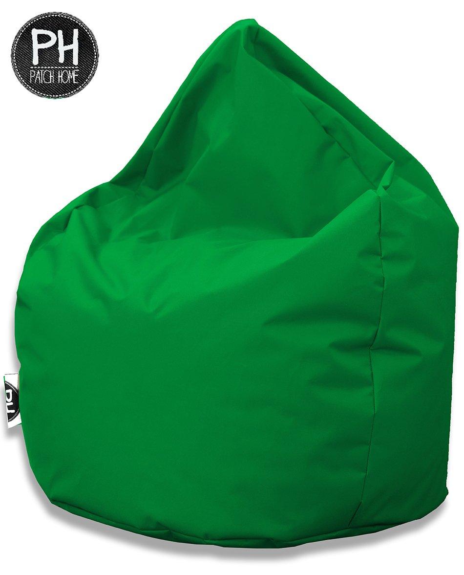 Avec rembourrage en polystyr/ène En forme de goutte XL 300 Liter 300 l Pour lint/érieur et lext/érieur 25 couleurs et 3 tailles diff/érentes - Orange Pouf poire Patchhome