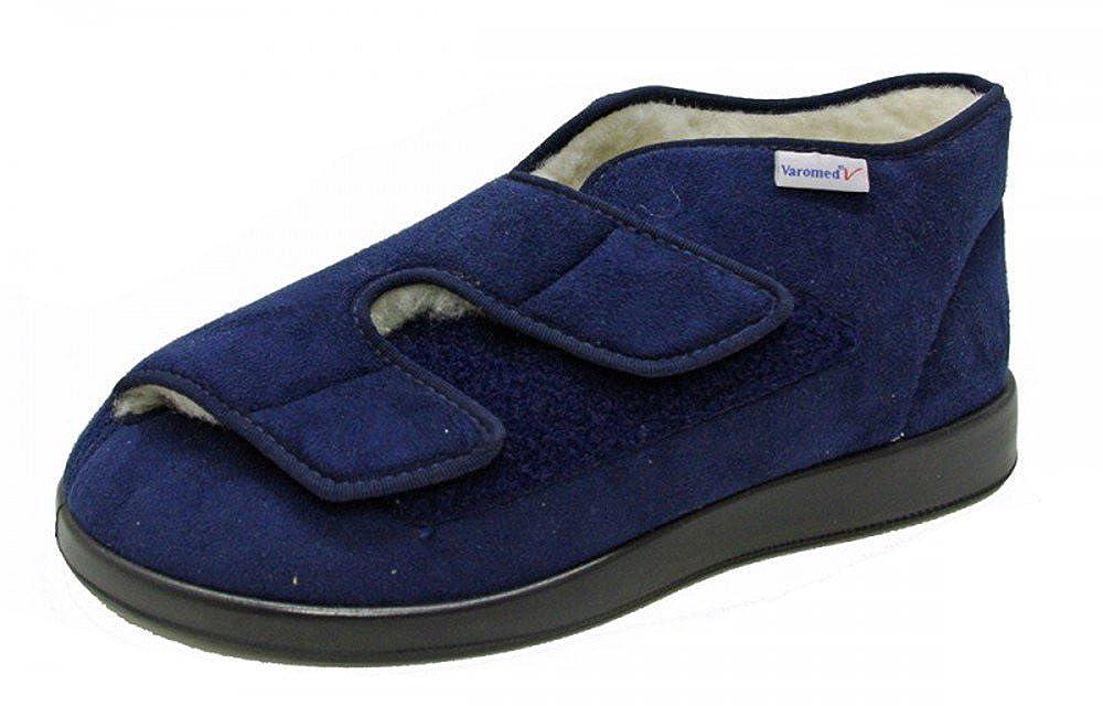 Klett-Stiefel aus Softvelour. In der Farbe Größe marine, marine, Größe Farbe 43 - 24f6ec