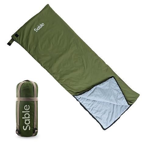 Sable Saco sábana, Saco de Dormir de Camping Ultraligero cómodo para Viaje Senderismo Albergo Montaña