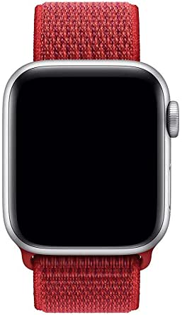 Nylone band for apple watch 40mm red color