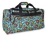 Cheap Ever Moda Paisley Duffle Bag for Women