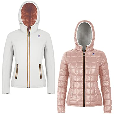 59d6f003ad5b97 K-Way Jacket Lily Thermo Plus Double for woman, raincoat, breathable fabric  -