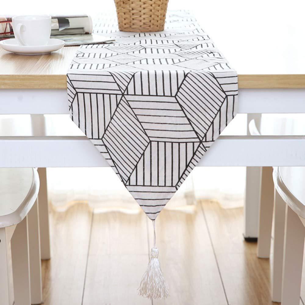 30X240Cm Décorations Et Accessoires De Fête Chemin De Table Nordic Drapeau De  Table Moderne Minimaliste Japonais ...