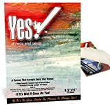 Yes! Canvas Pad 8.5x11''