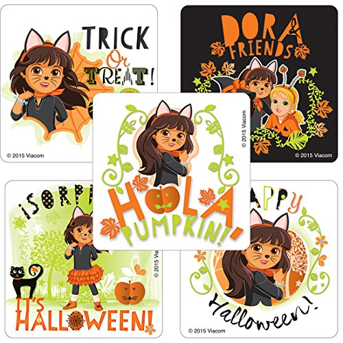 SmileMakers Dora & Friends Halloween Stickers - Prizes