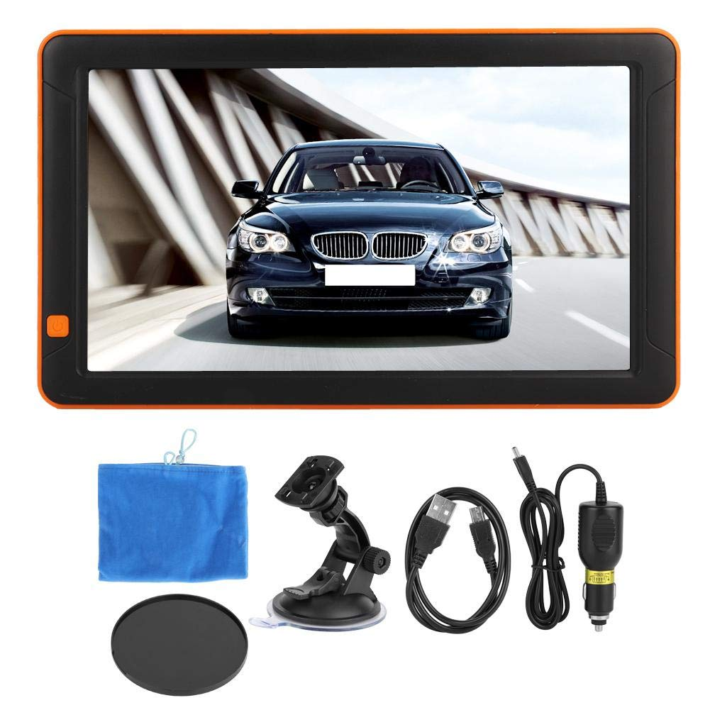 GPS Navigator, 9 inch Capacitive Screen Car Portable GPS Navigator FM + 8G + DDR256M by Dweekiy