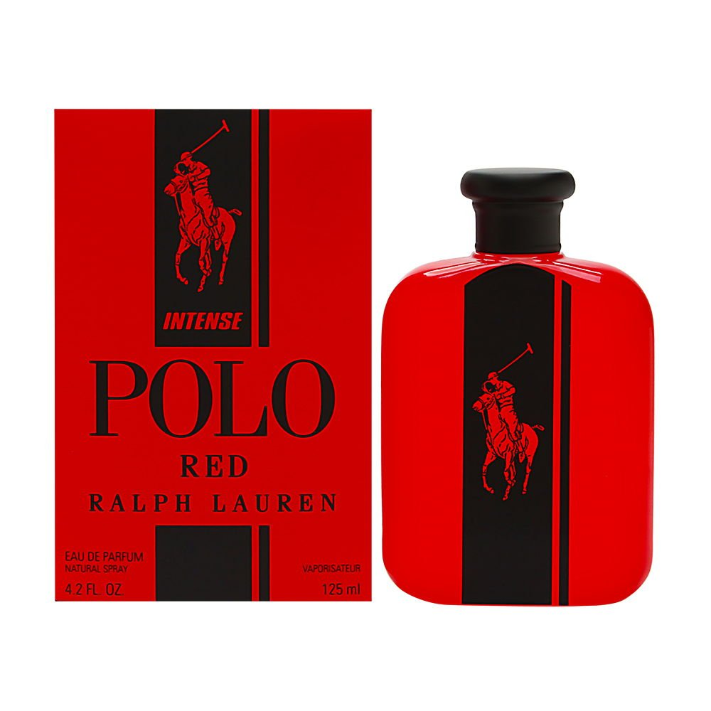 Polo Red Intense by Ralph Lauren for Men 4.2oz Eau de Parfum Spray