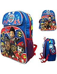 New Nickelodeon Paw Patrol Big Head 3 D Large School Backpack-5348