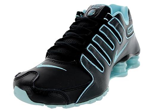 buy popular ca318 7a753 Nike Women s Shox NZ EU Black Glacier Ice Anthracite Running Shoe 10 Women  US
