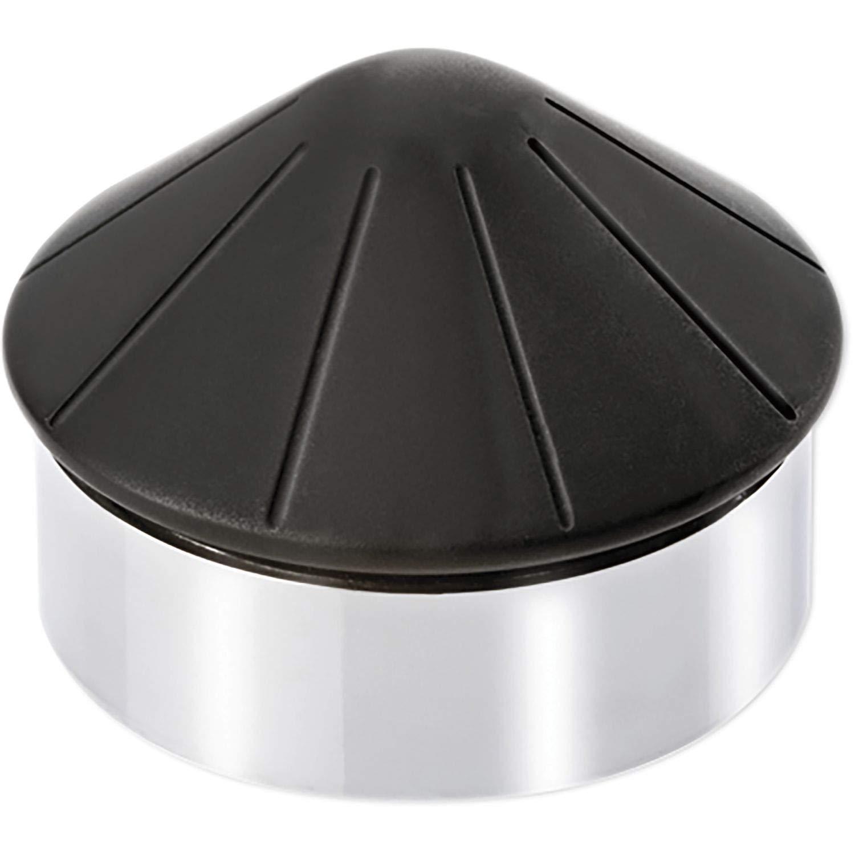 1050 g Acier chrom/é Hauteur: 62 mm Diam/ètre: 85 mm Burg-W/ächter Butoir de porte sol en c/ône TSB 2585 CR Poids: env