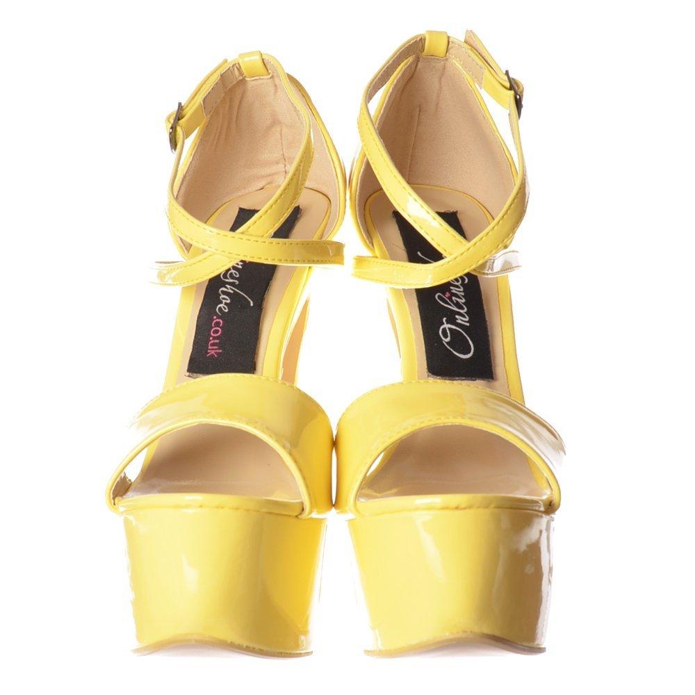 d9800882e5b Onlineshoe Women's Strappy High Heel Party Pumps