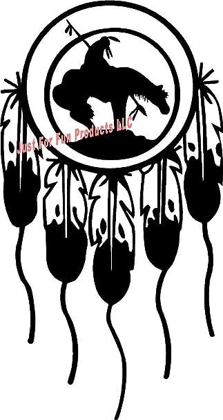 Car//SUV Vinyl Die-Cut Peel N/' Stick Decal Native American Indian Dream Catcher