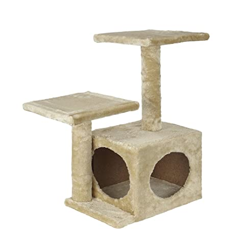 Bunty - Cama para gato con diseño de árbol, centro de actividad ...