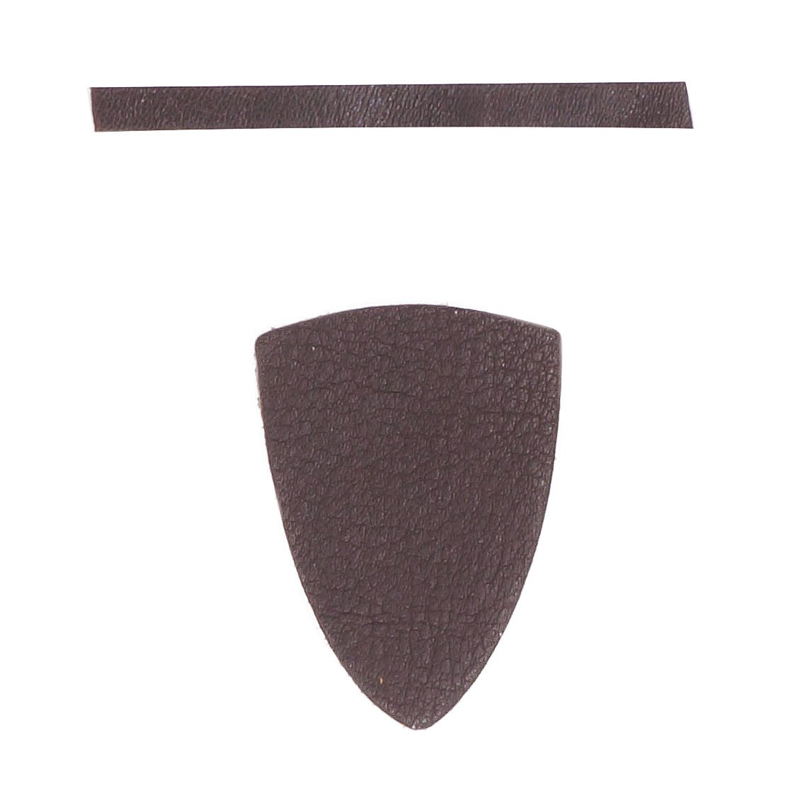 Serious Archery Brown Leather Arrow Rest and Spacer