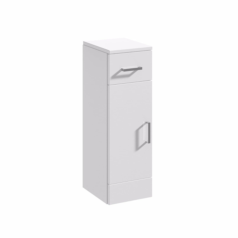 Veebath Linx Bathroom White Gloss Vanity Furniture Storage Cupboard Unit  250mm X 330mm