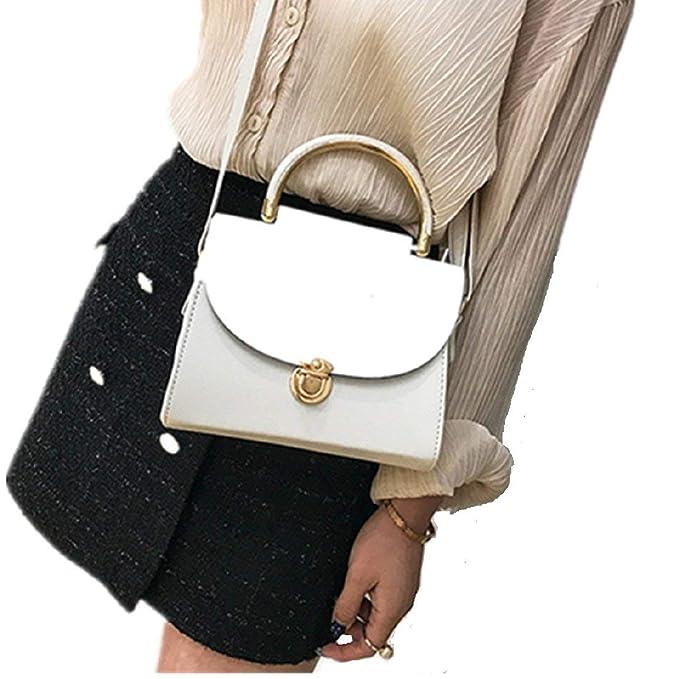 Zilosconcy 2019 Moda Salvaje Bolsos Casual Moda de Mujer de Hombro Cuero Bordado de la Manera Messenger Bolso de Mano: Amazon.es: Ropa y accesorios