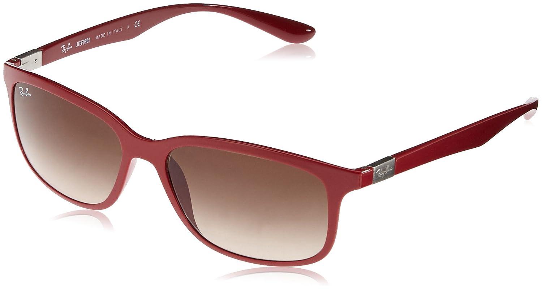 802b39c4d8 Amazon.com  Ray-Ban 4215 612613 Amaranth 4215 Liteforce Rectangle  Sunglasses Lens Category  Ray-Ban  Shoes