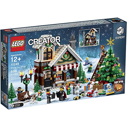 LEGO Creator Expert Winter Toy Shop, 898 Pieces , Age Range: 12 years and - Decorations Tree Christmas Lego