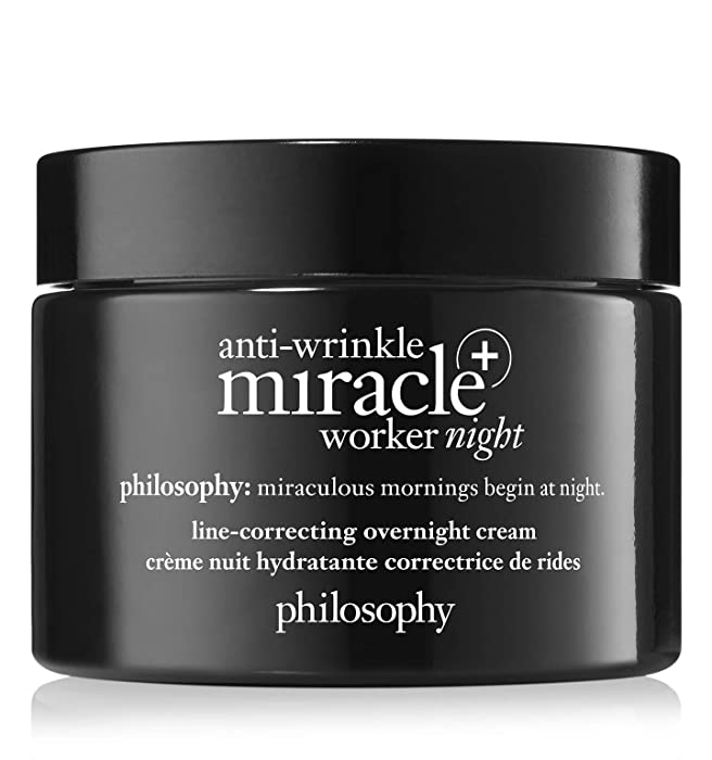 philosophy anti-wrinkle miracle worker night cream 2.0 oz