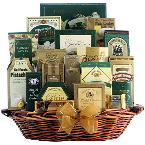 Great Arrivals Champagne Gift Basket, The Gourmet Sophisticate
