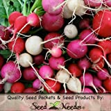 buy Package of 500 Seeds, Easter Egg Radish (Raphanus sativus) Non-GMO Seeds By Seed Needs now, new 2018-2017 bestseller, review and Photo, best price $3.65