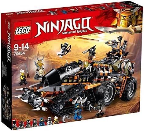 LEGO 2018 NEW NINJAGO Dieselnaut 70654