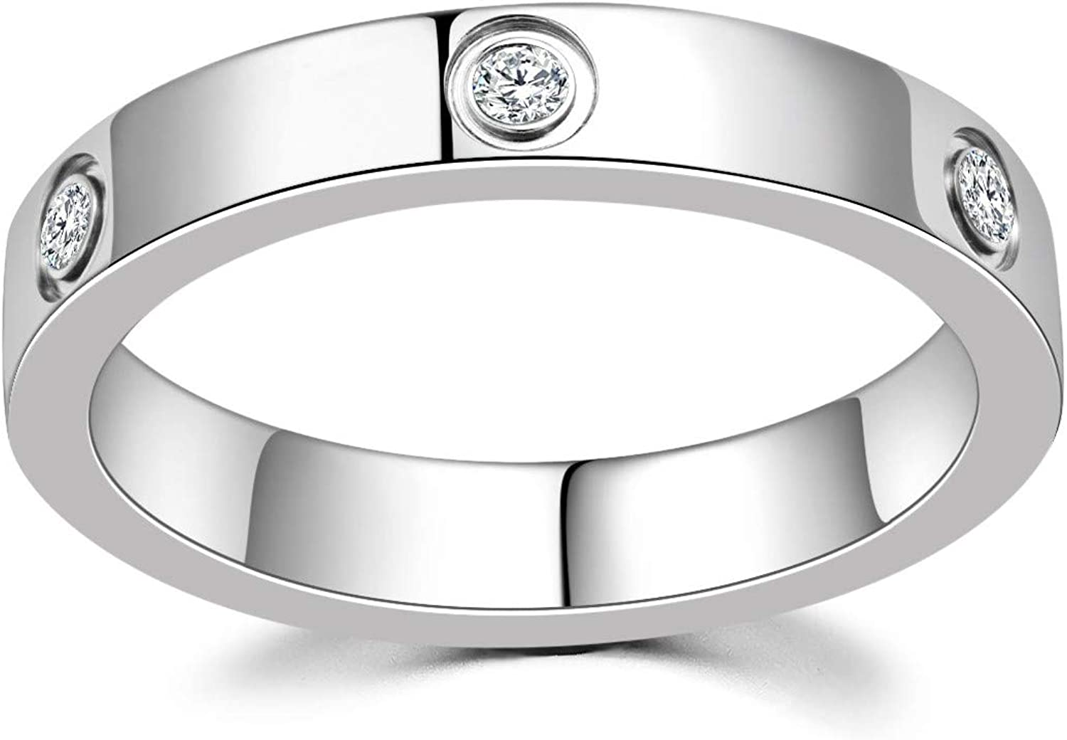 LFRIO 18K Gold Plated Love Ring for Women | Cubic Zirconia Promise Gold Rings | Engagement Wedding Bands