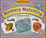 elephants never forget memory matching board game