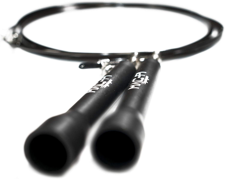 Resistente Leggera per Allenamento Boxe Crossfit con Guaina Protettiva Mac-Pi Corda per Saltare Professionale Regolabile Custodia e Viti di Ricambio