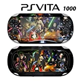Decorative Video Game Skin Decal Cover Sticker for Sony PlayStation PS Vita (PCH-1000) - Star Wars